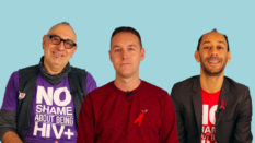Jonathan Blake, Tom Hayes and Ant Babajee speak to PinkNews for World AIDs Day