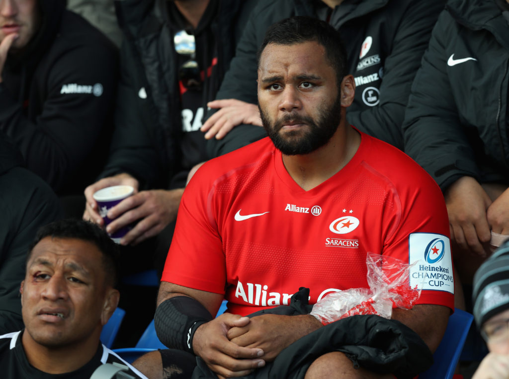 Billy Vunipola of Saracens