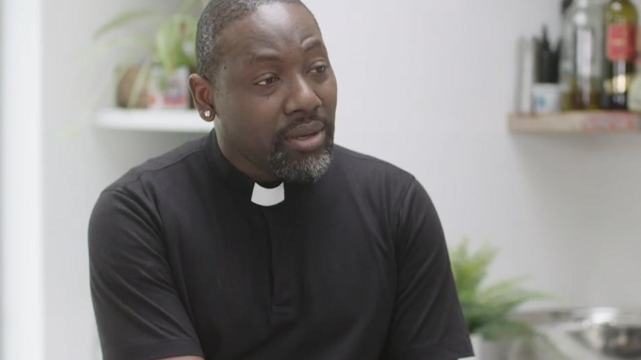 """""""Talking about HIV within my faith community was challenging"""" says Reverend Jide Macaulay"""