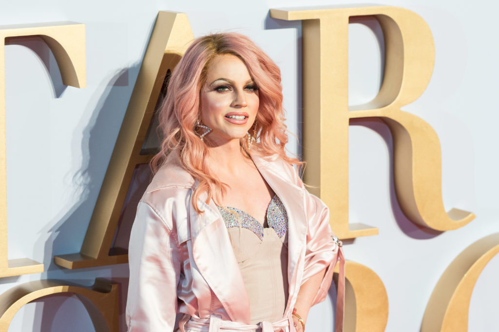 Courtney Act: society isn't ready for LGBT contestants on