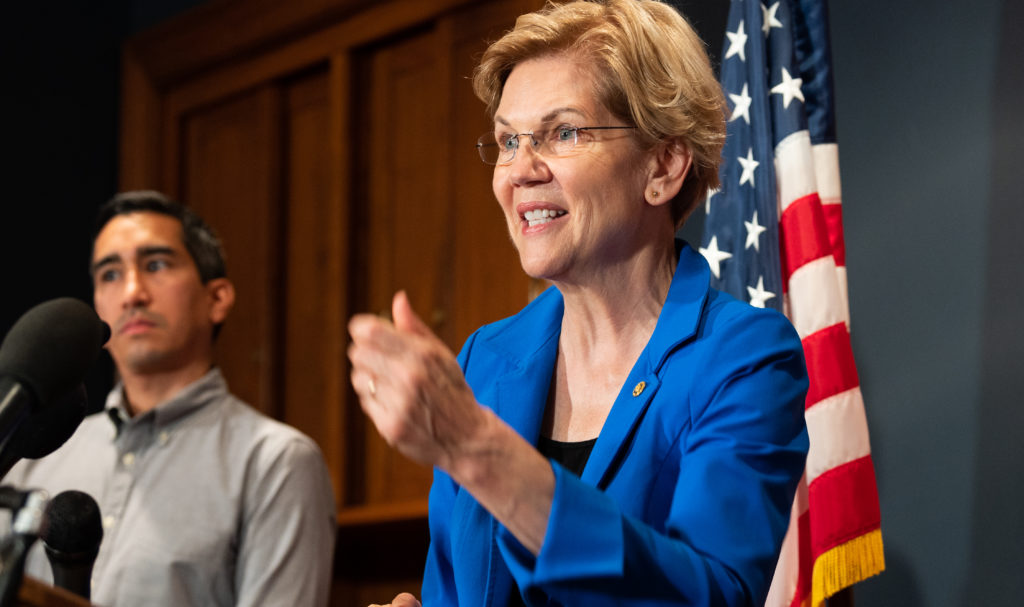 U.S. Senator Elizabeth Warren reintroduced PRIDE Act