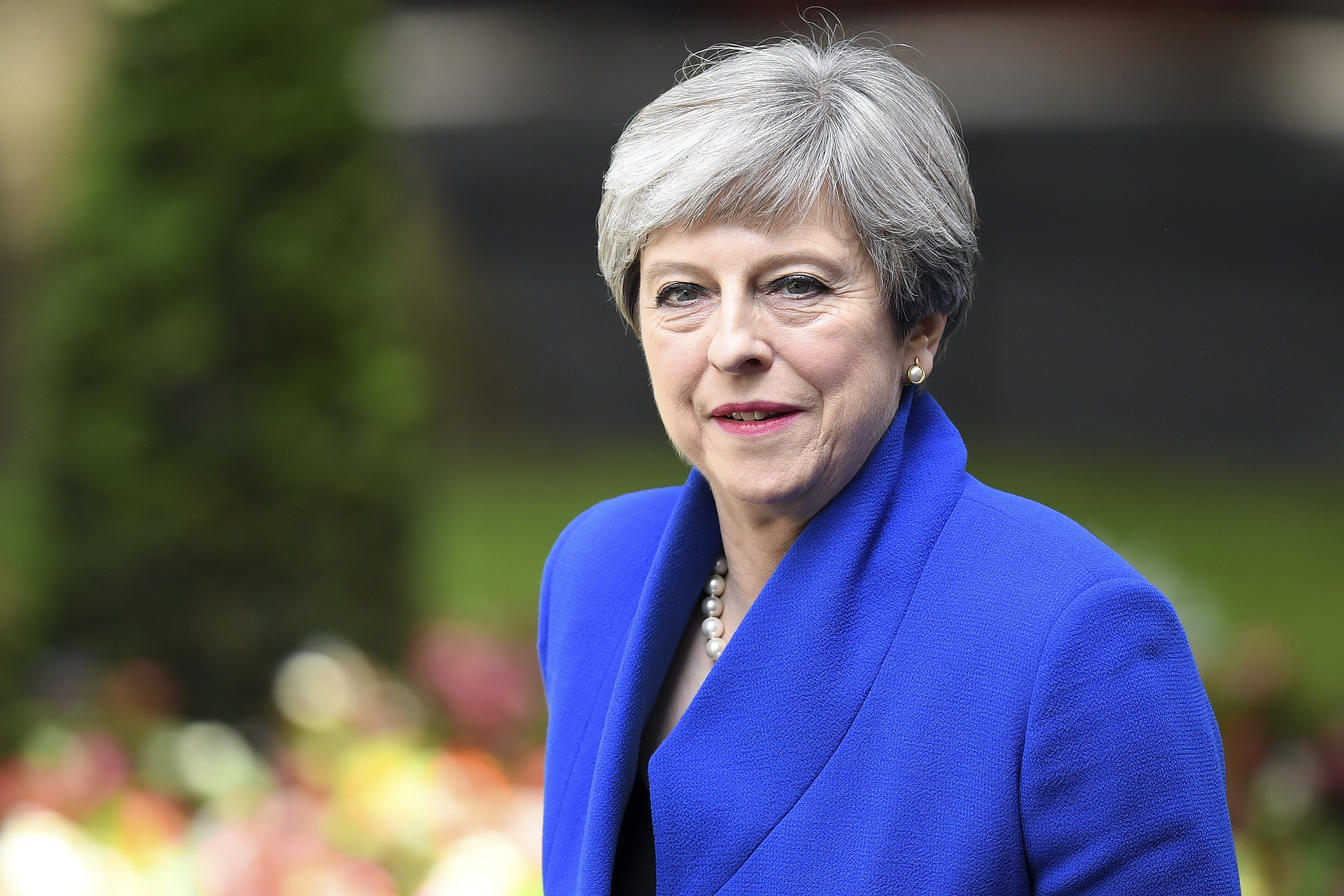 Theresa May is expected to officially resign as the UK's prime minister at Buckingham Palace on July 24.