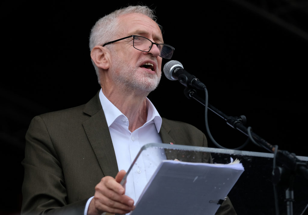 Jeremy Corbyn shares his pronouns in solidarity with trans community