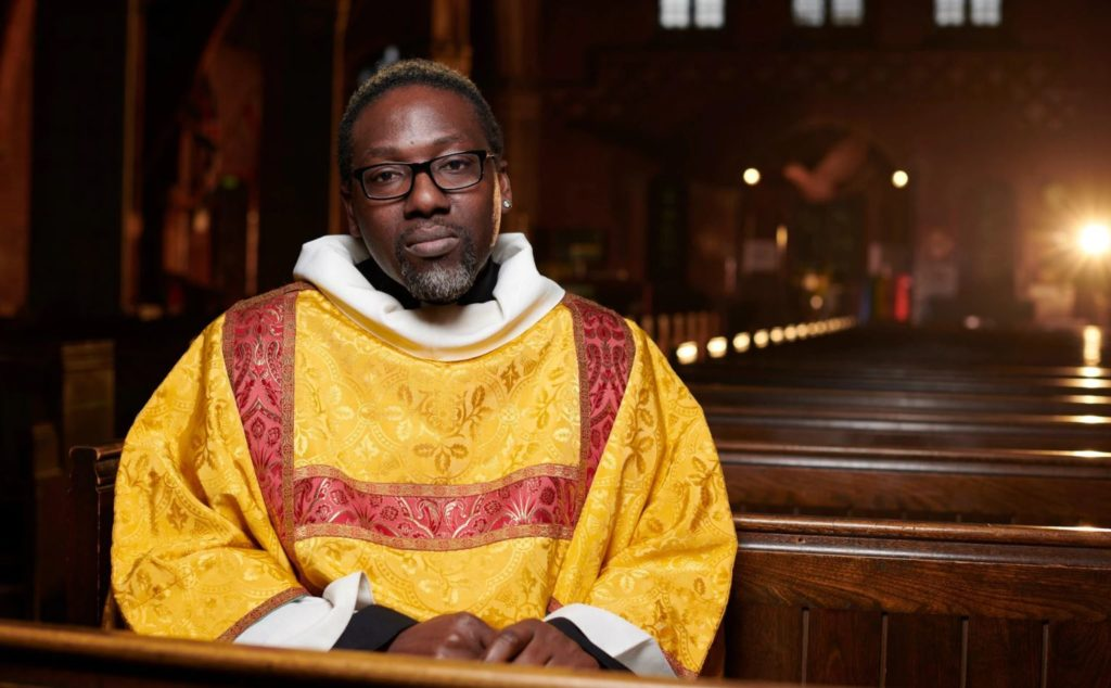 Church of England deacon Jide Macaulay