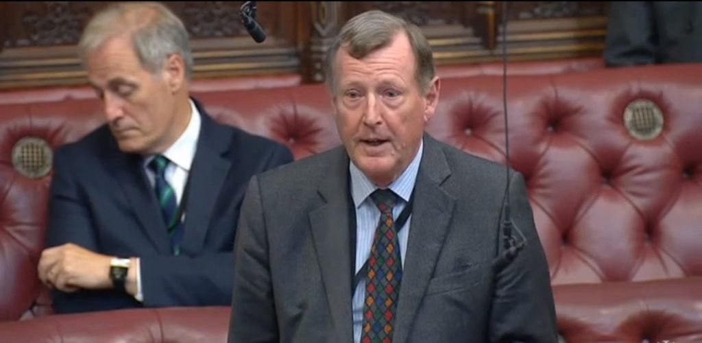 Lord Trimble, the former First Minister of Northern Ireland, revealed his daughter is in a same-sex marriage