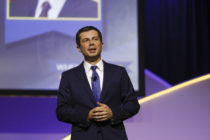 Democratic presidential candidate and South Bend, Indiana mayor Pete Buttigieg