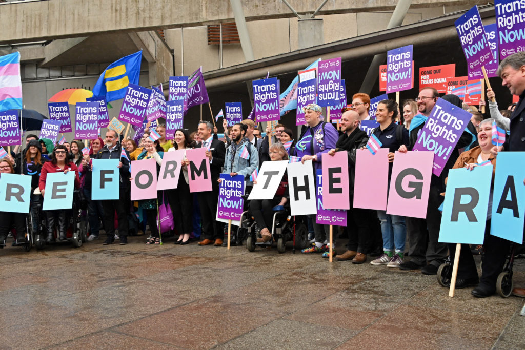 Reforming Scotland's gender recognition laws backed by women's groups