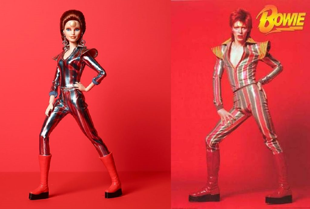 David Bowie has been immortalised in the form of a Barbie