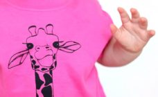 pink T-shirt from Fred and Noah