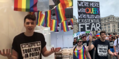 Dan Howell went to Pride in London for the first time