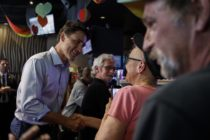 Justin Trudeau makes historic visit to Canadian gay bar