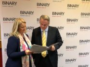 Mark Latham and Kirralie Smith of Binary Australia have launched the campaign targeting transgender kids
