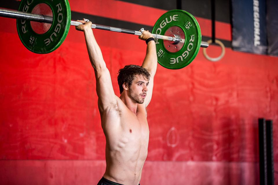 CrossFit athlete Alec Smith (Instagram)