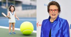 Billie Jean King has been turned into an action figure