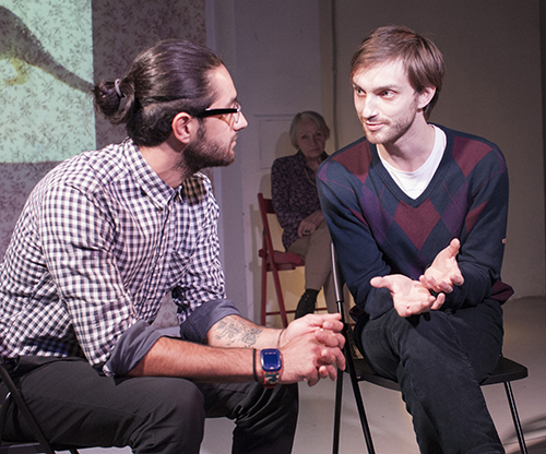 The Moscow-based play is based on real stories of gay people coming out to their mothers