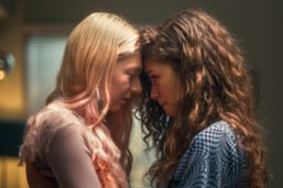 Euphoria's queer couple kiss
