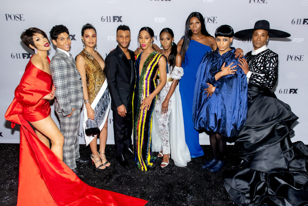 Pride: The cast of acclaimed FX drama series Pose, which has taken home a GLAAD Media Award