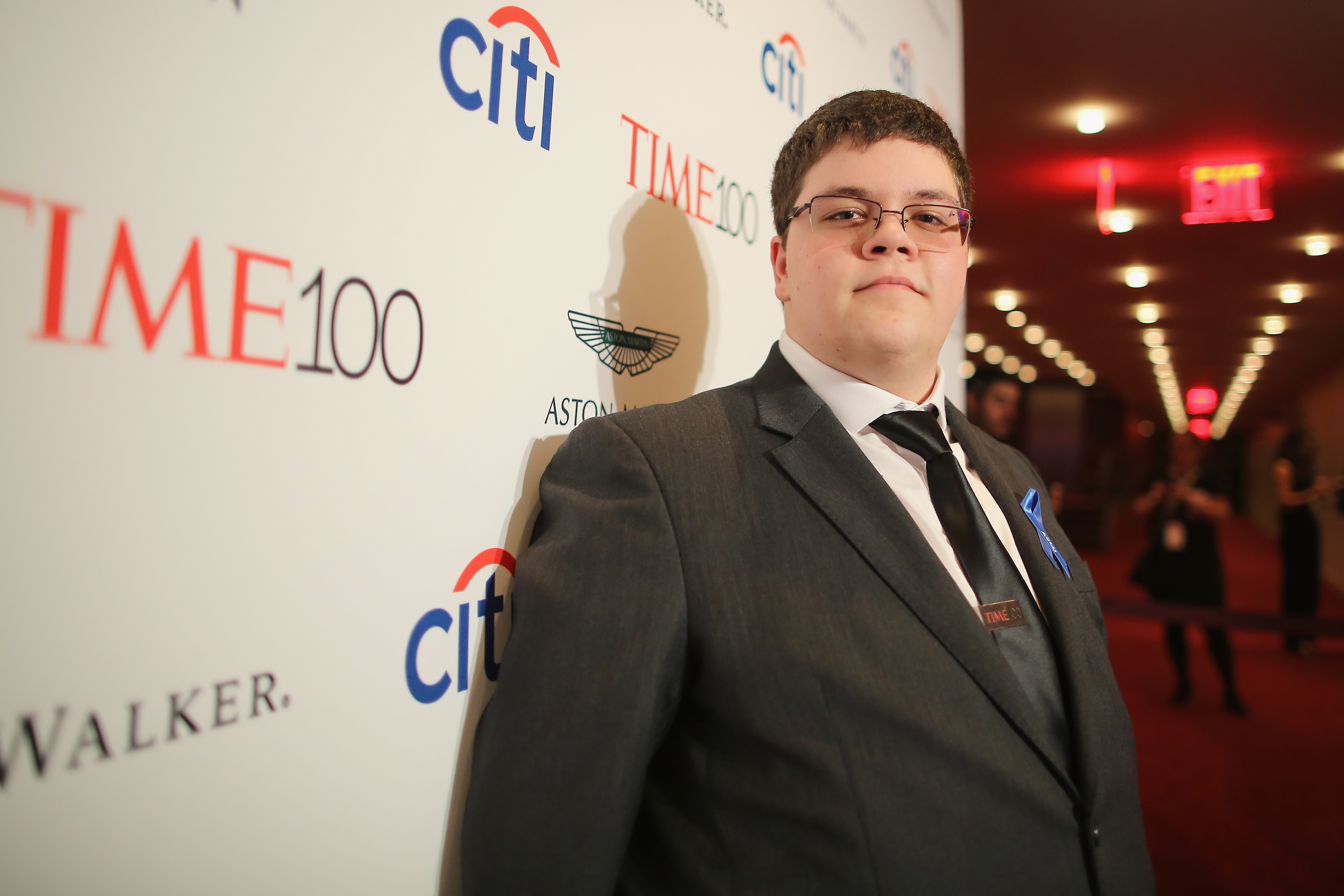 Gavin Grimm attends the 2017 Time 100 Gala at Jazz at Lincoln Center on April 25, 2017 in New York City.