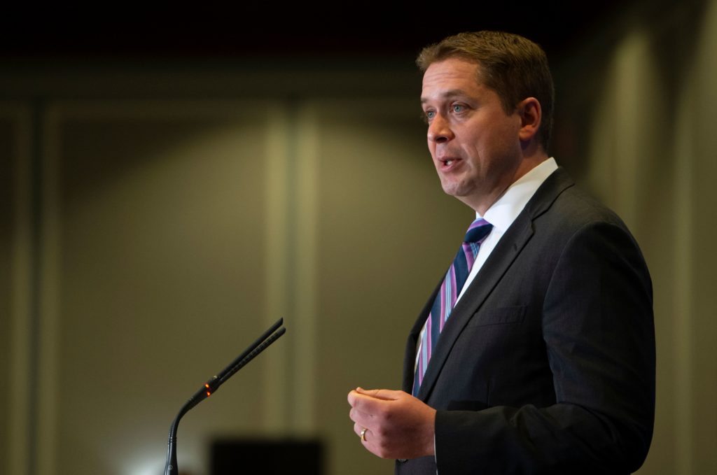 Canadian Conservative leader ducks calls to apologise for bizarrely comparing gay marriage to dogs