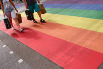 Rainbow crossing at Pride In London 2019