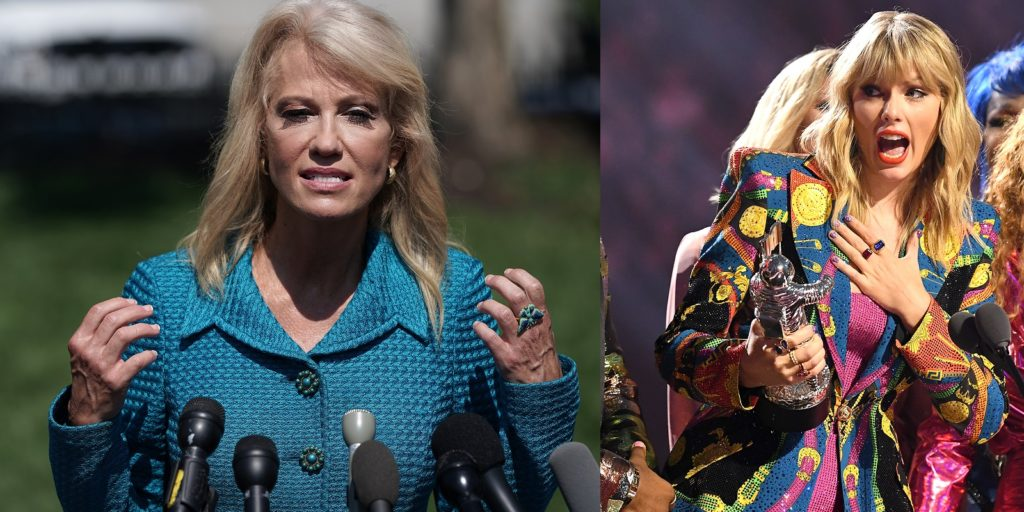 Kellyanne Conway decided to sing a Taylor Swift song on live TV