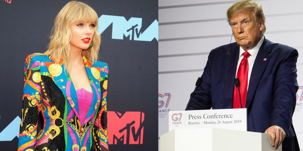 The Trump administration rejected Taylor Swift's calls to pass the Equality Act