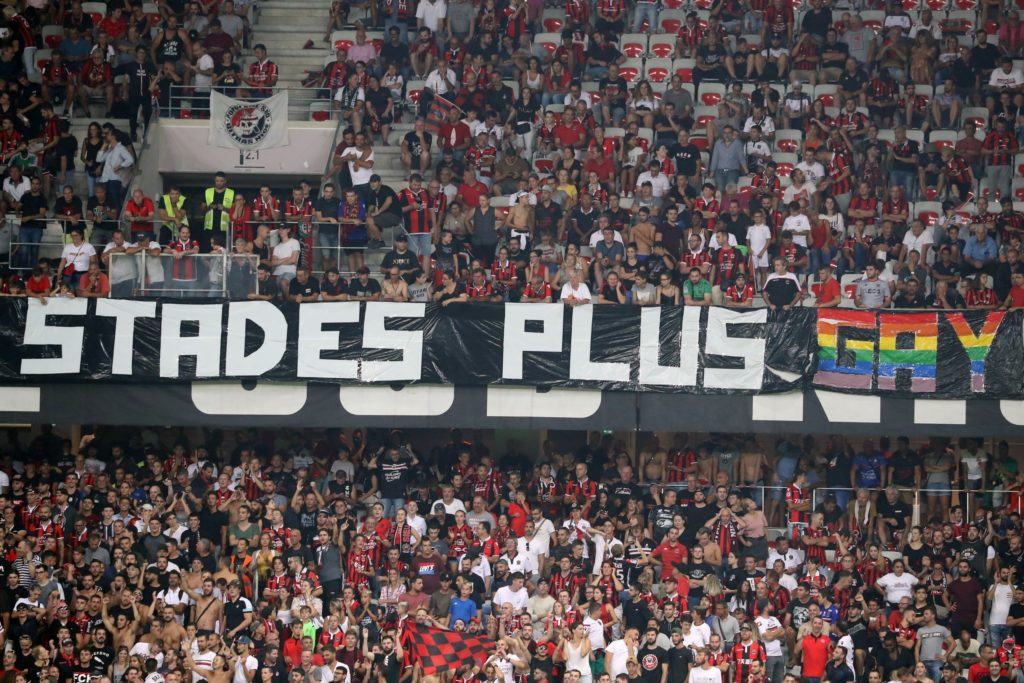 Nice vs Marseille halted by referee because of homophobic banners at stadium
