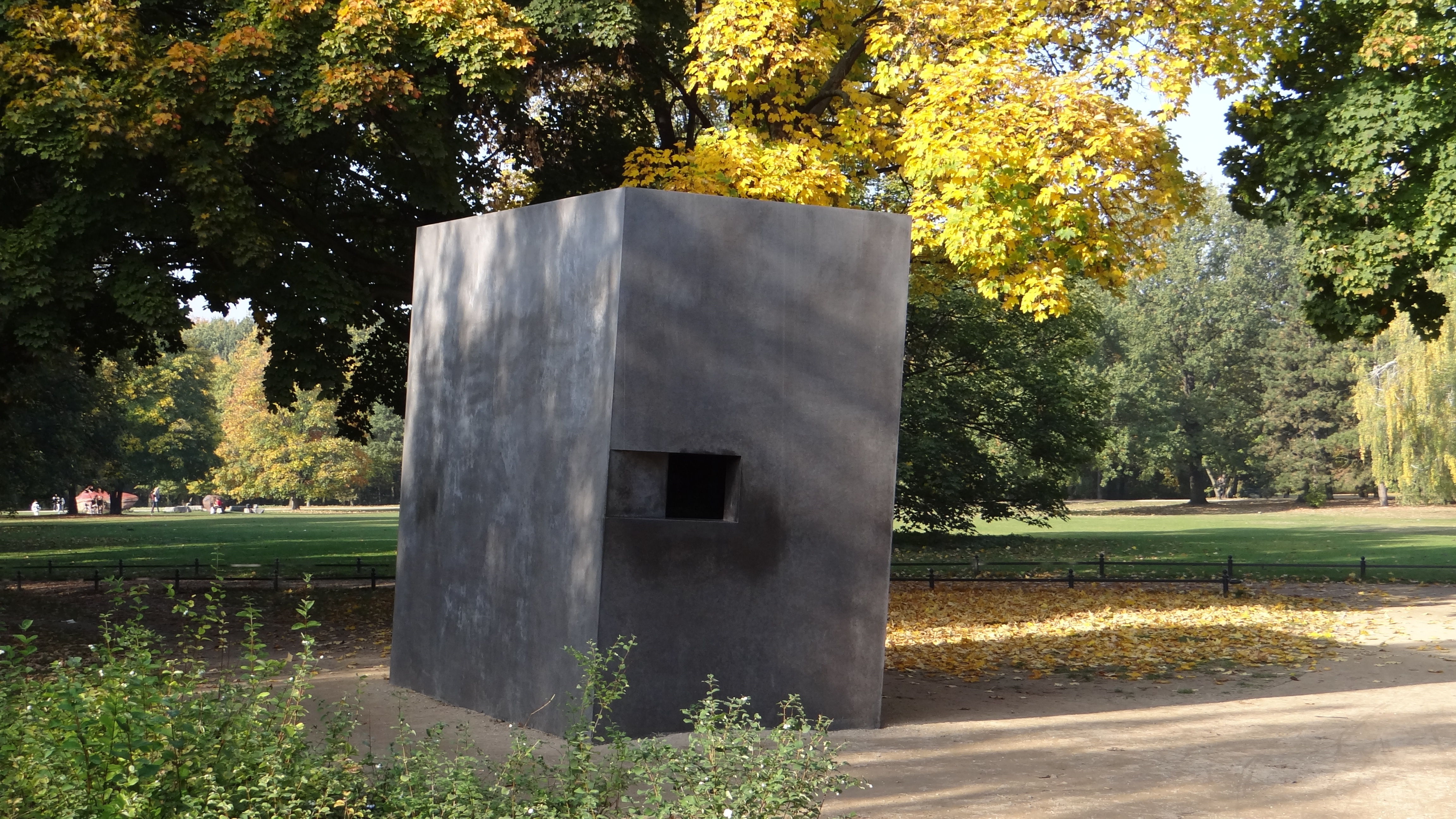 memorial to gay victims of the holocaust Berlin