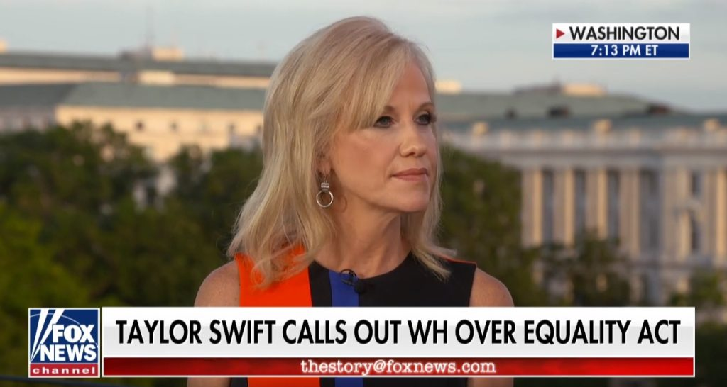 Kellyanne Conway dismissed calls to pass the Equality Act