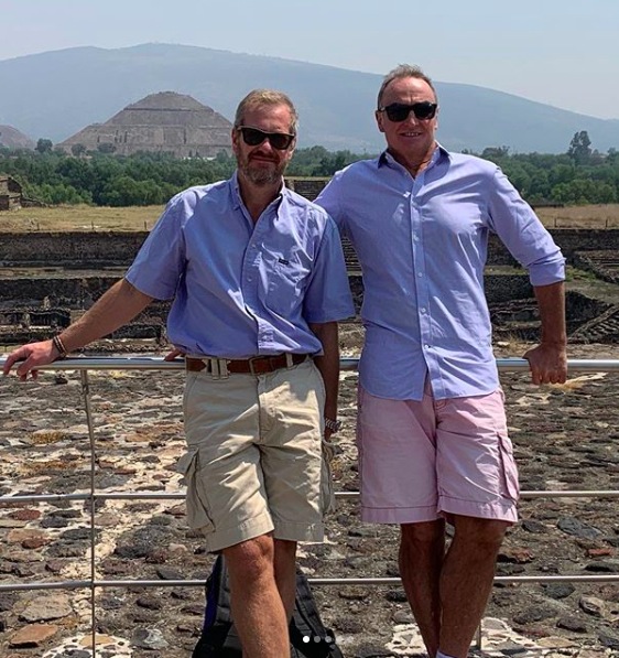 Queen's gay cousin Lord Ivar Mountbatten with his husband James Coyle
