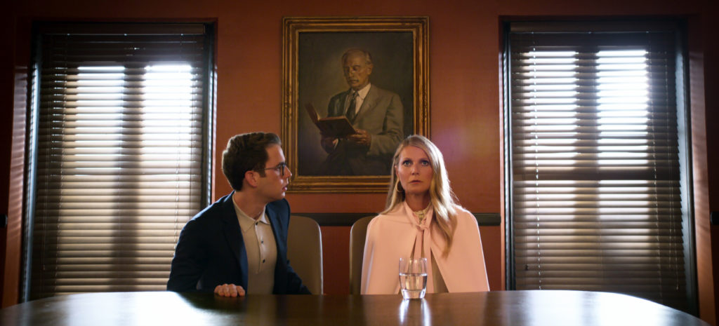 Ben Platt and Gwyneth Paltrow in new Ryan Murphy musical comedy The Politician