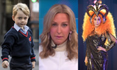 Prince George, Lara Spencer and Cher