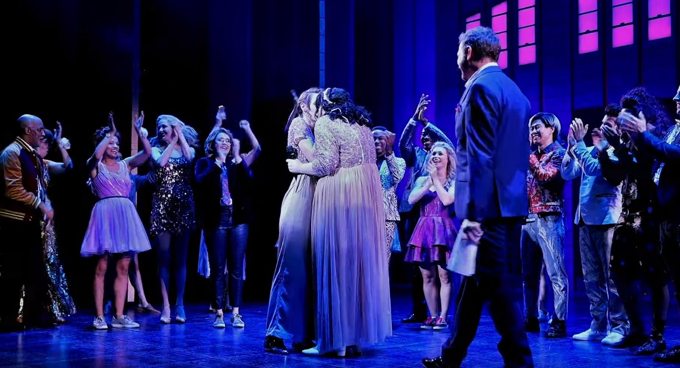 Armelle Kay Harper married actress Jody Smith on-stage after a performance of The Prom musical