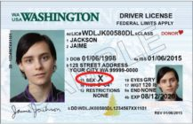 washington non-binary ID