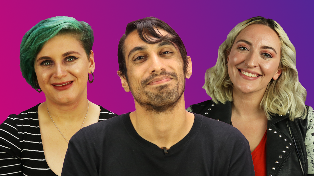 Lois, Vaneet and Essie share their favourite things about bisexuality (PinKNews)