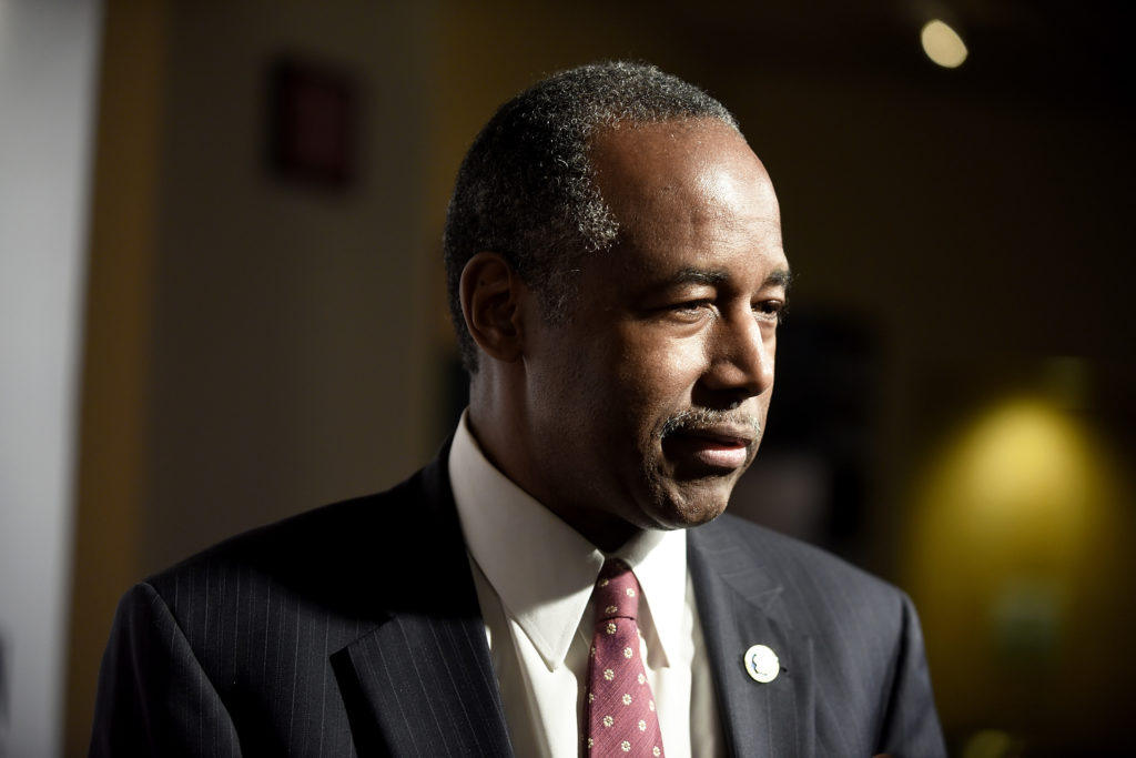 Ben Carson doubled down on his comments about trans people