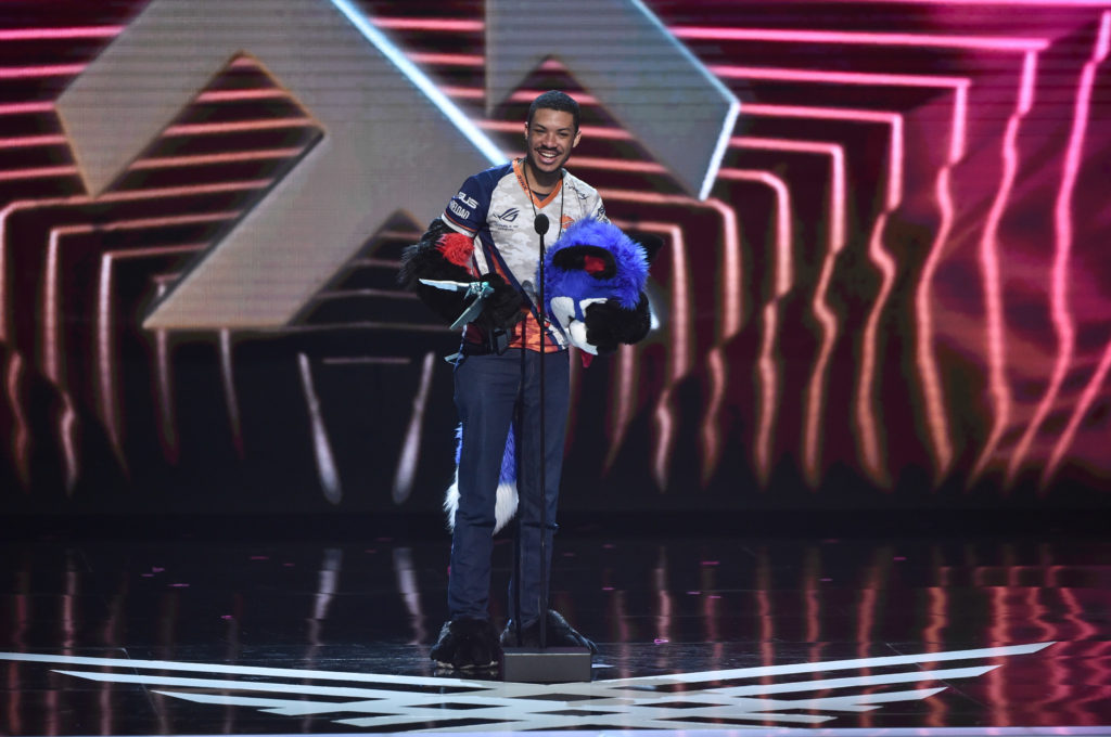 SonicFox: Dominique 'SonicFox' McLean attends The 2018 Game Awards at Microsoft Theater on December 06, 2018 in Los Angeles, California.