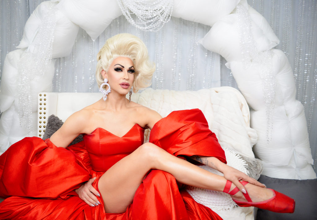 RuPaul's Drag Race season 11 alum, Brooke Lynn Hytes. (Chelsea Guglielmino/Getty Images)