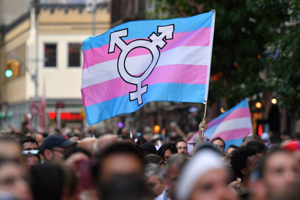 Transgender pronouns explained (ANGELA WEISS/AFP/Getty Images)