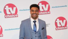 Asan N'Jie attends The TV Choice Awards 2019 at Hilton Park Lane on September 9, 2019 in London, England.