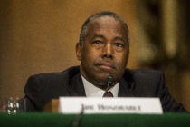 US Housing and Urban Development Secretary Ben Carson