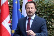 Gay prime minister Xavier Bettel