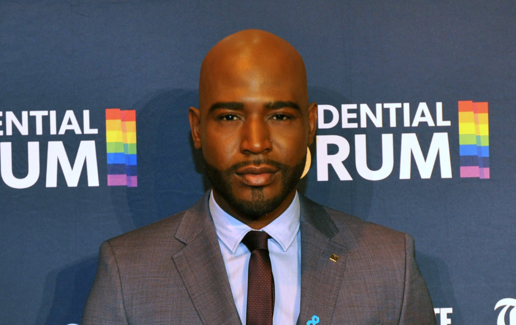 Queer Eye's Karamo Brown backstage at The Presidential Candidate Forum. (Steve Pope/Getty Images for GLAAD)