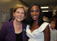 Angelica Ross and Elizabeth Warren