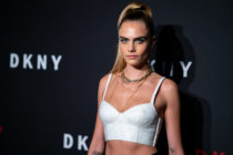 Cara Delevingne attends the DKNY 30th anniversary party at St. Ann's Warehouse on September 09, 2019 in New York City.