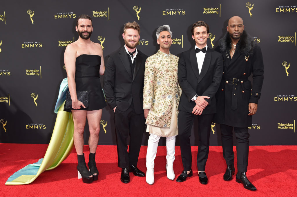 The real winner of the Emmys was Jonathan Van Ness and his minidress