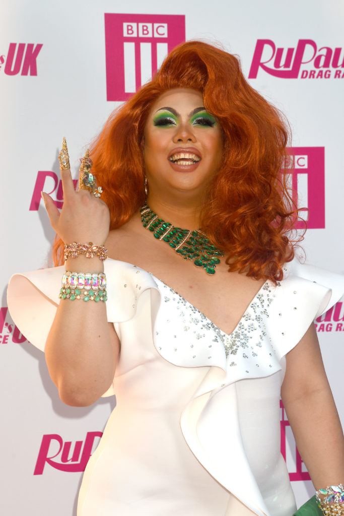 Sum Ting Wong at the RuPaul's Drag Race UK launch event. (Dave J Hogan/Getty Images)