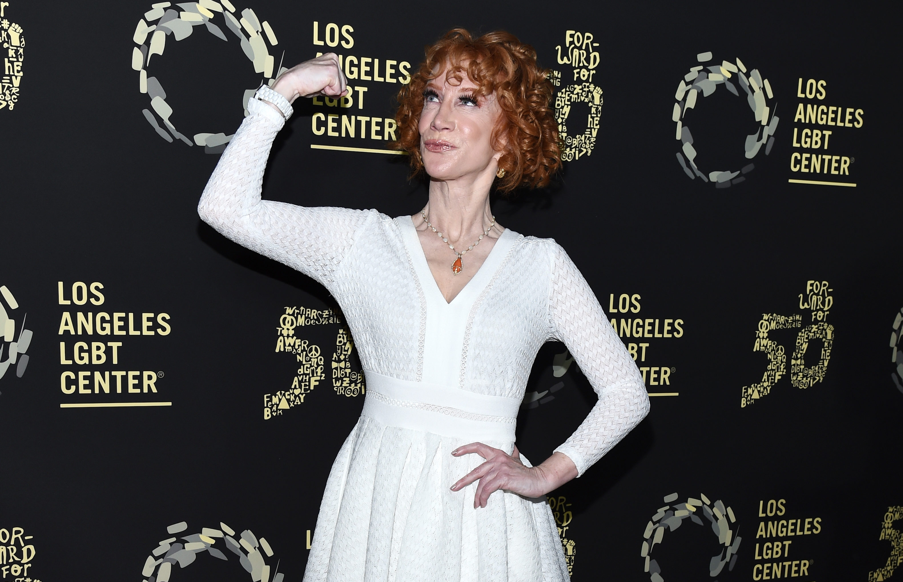 """Kathy Griffin at Los Angeles LGBT Center Celebrates 50th Anniversary With """"Hearts Of Gold"""" Concert"""