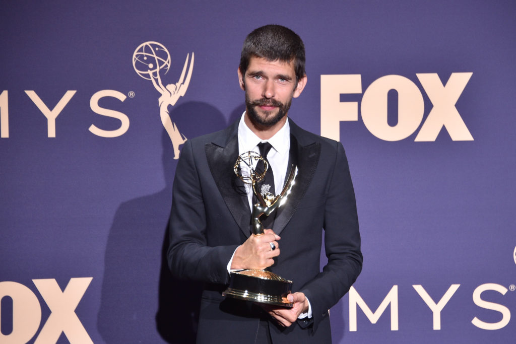 Ben Whishaw attends the The 71st Emmy Awards