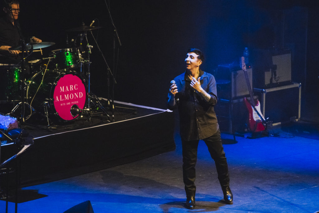 Marc Almond performs at the Barbican York on March 26, 2017 in York, England. (Andrew Benge/Redferns)
